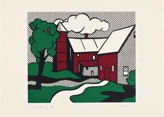 Roy Lichtenstein-Red Barn-1969