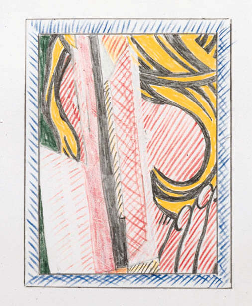 Roy Lichtenstein-Reflection on Hair-1989