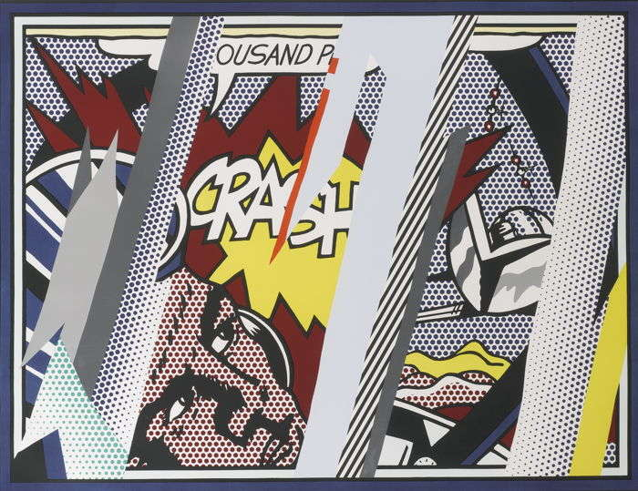 Roy Lichtenstein-Reflections On Crash-1990