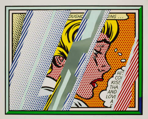 Roy Lichtenstein-Reflections on Girl-1990