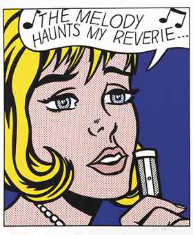 Roy Lichtenstein-Reverie, from 11 Pop Artists, Volume II-1965