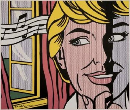 Roy Lichtenstein-Sound of Music (Julie Andrews)-