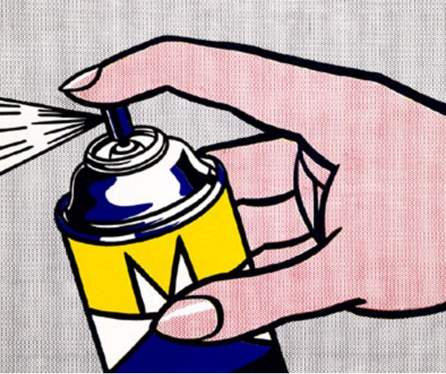 Roy Lichtenstein-Spray II-1963