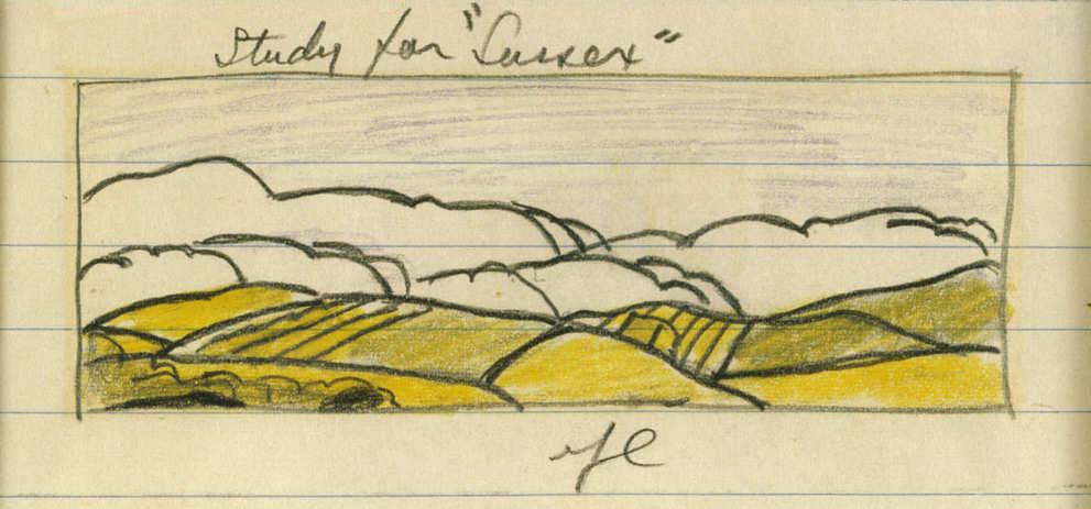 Roy Lichtenstein-Study for Sussex-1964