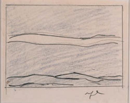 Roy Lichtenstein-Study for a Landscape-1964