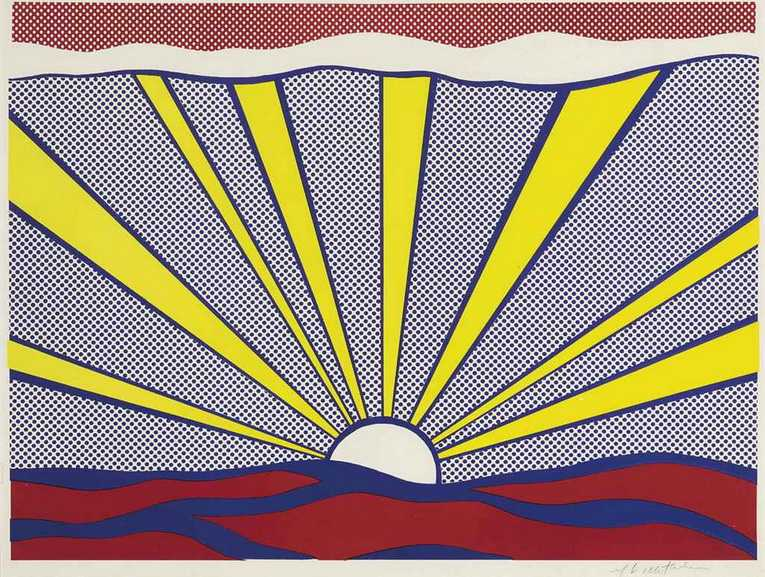 Roy Lichtenstein - Sunrise