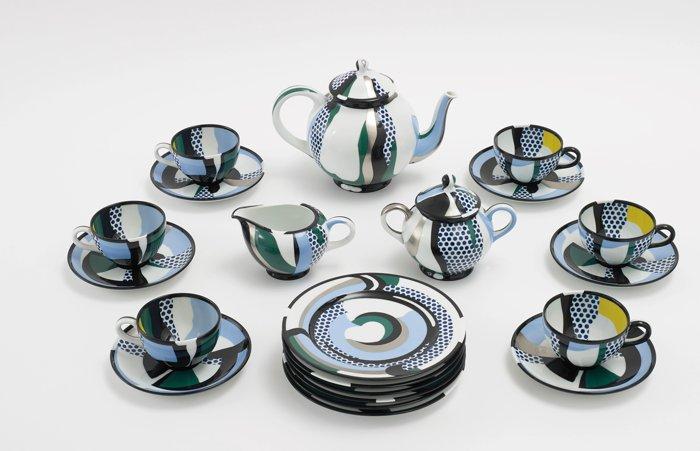 Roy Lichtenstein-Tea Set-1984