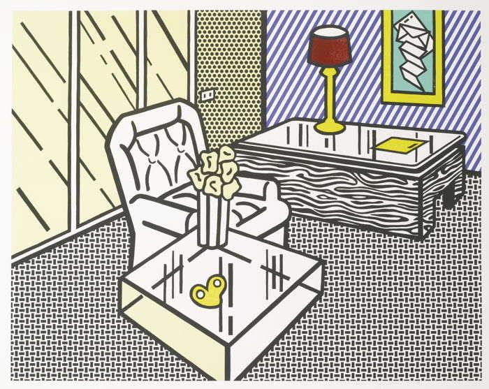 Roy Lichtenstein-The Den-1990