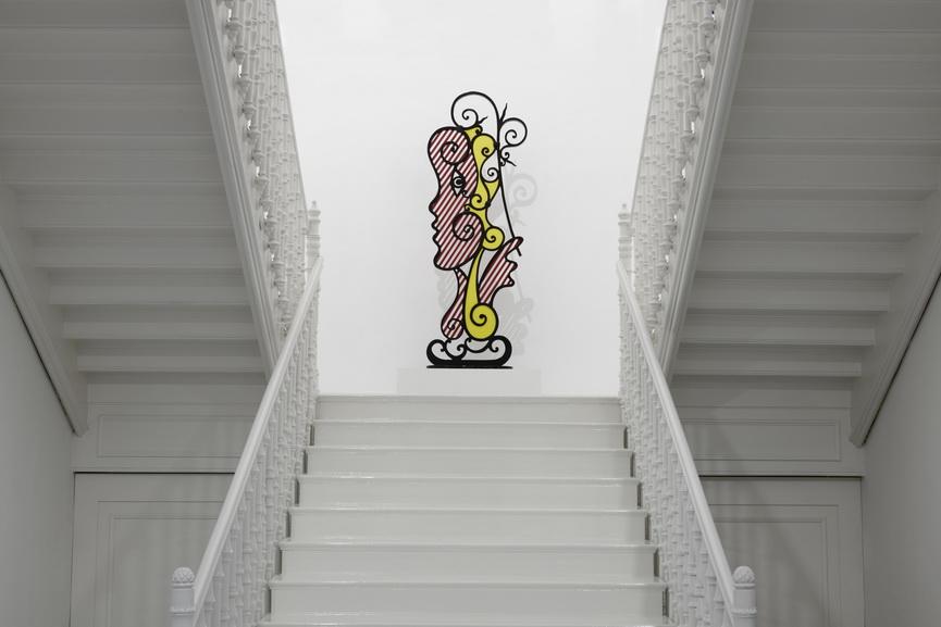 Roy Lichtenstein The Loaded Brush Installation view