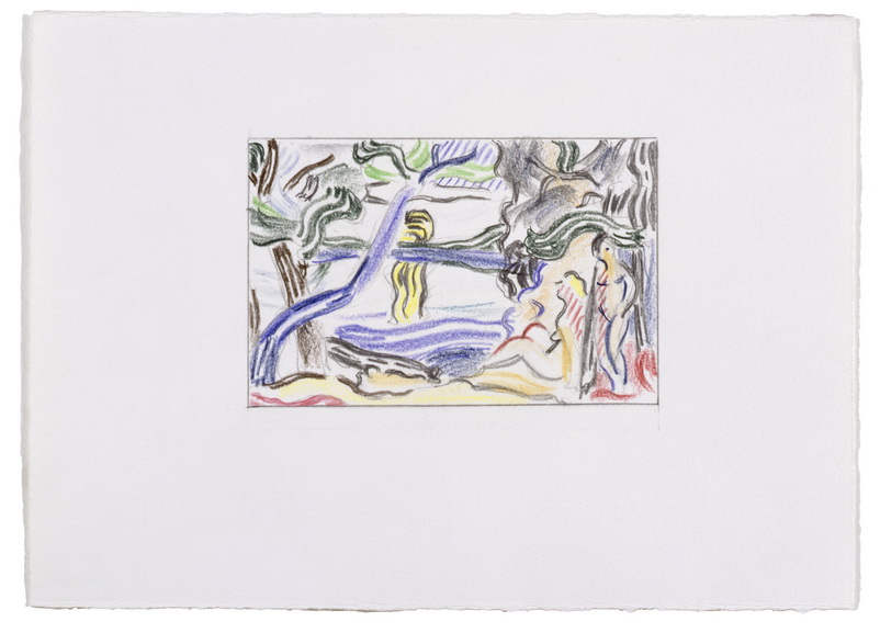 Roy Lichtenstein - The Sower