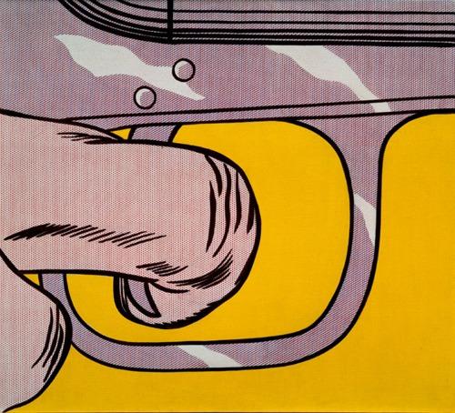 Roy Lichtenstein-Trigger Finger-1963