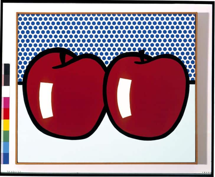 Roy Lichtenstein - Two Apples, 1972