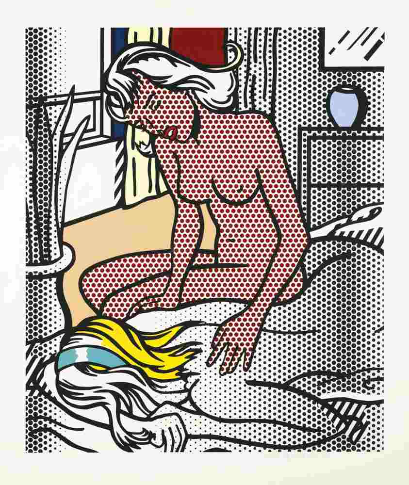 Roy Lichtenstein-Two Nudes-1994