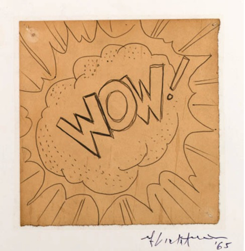 Roy Lichtenstein-Wow!-1965