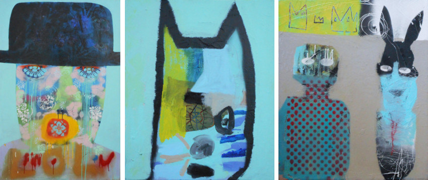 Roy Wilkins - Fin Lol, 2014 - Blue Cat, 2015 - You and Me, 2015