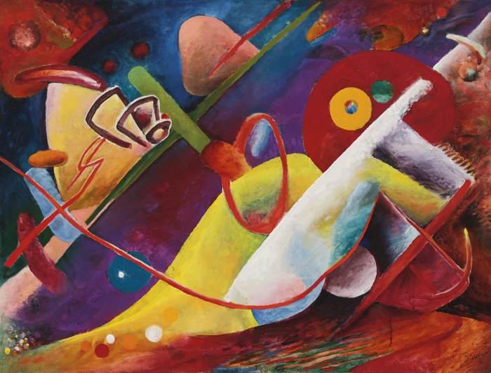 Rudolf Bauer-Sinfonie 23-1916