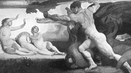 Rudolf Jettmar – Hercule et les Hesperides – Image via wikipedia