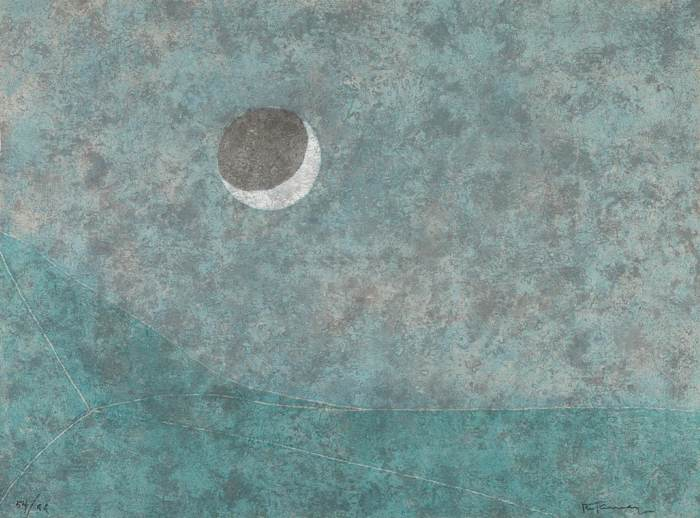 Rufino Tamayo-Eclipse, from Rufino Tamayo 15 Etchings-1980