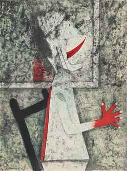 Rufino Tamayo-Il Grito-1975
