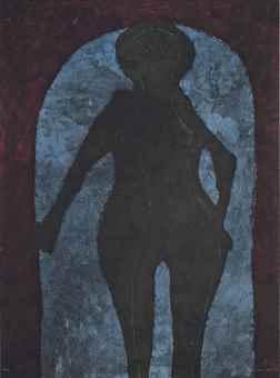 Rufino Tamayo-Mujer en Negro, from Rufino Tamayo 15 Litografias-1973