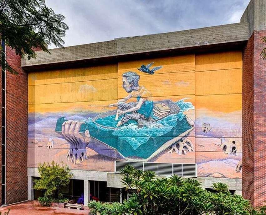 Rustam Qbic - Sailor Story, Public 2016 Festival, Perth, Australia
