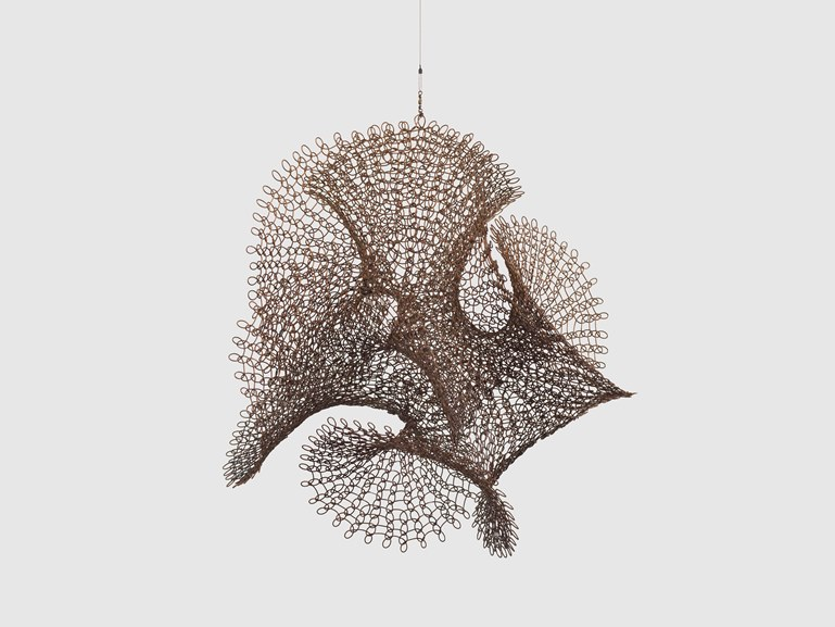Ruth Asawa - Untitled S590 Hanging Open Undulating Form