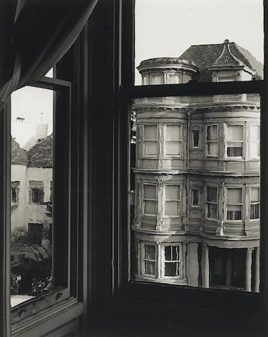 Ruth Bernhard-Bay Windows, San Francisco-1963