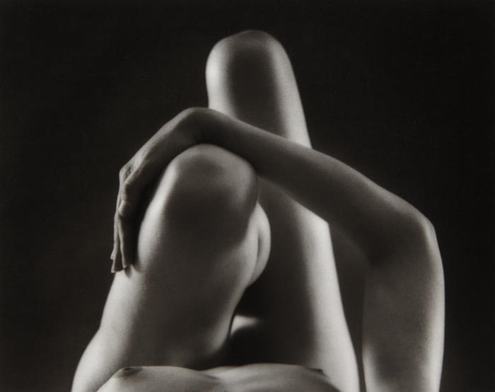 Ruth Bernhard-Knees and Arm-1976