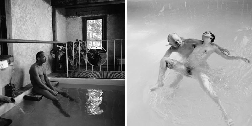 Ruth Kaplan - Hot Pool, California, 1991 - Watsu, California, 1992 (detail)