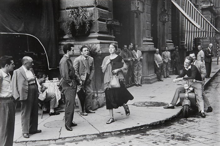 Ruth Orkin-American Girl in Italy, Florence-1951