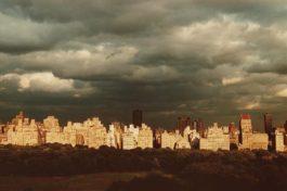 Ruth Orkin-Dark Clouds over 5th Ave., N.Y.C.-1981