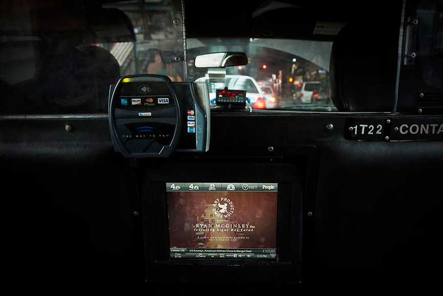 Ryan McGinley - Taxi TV, 2013, Photo by James Ewing time use search help