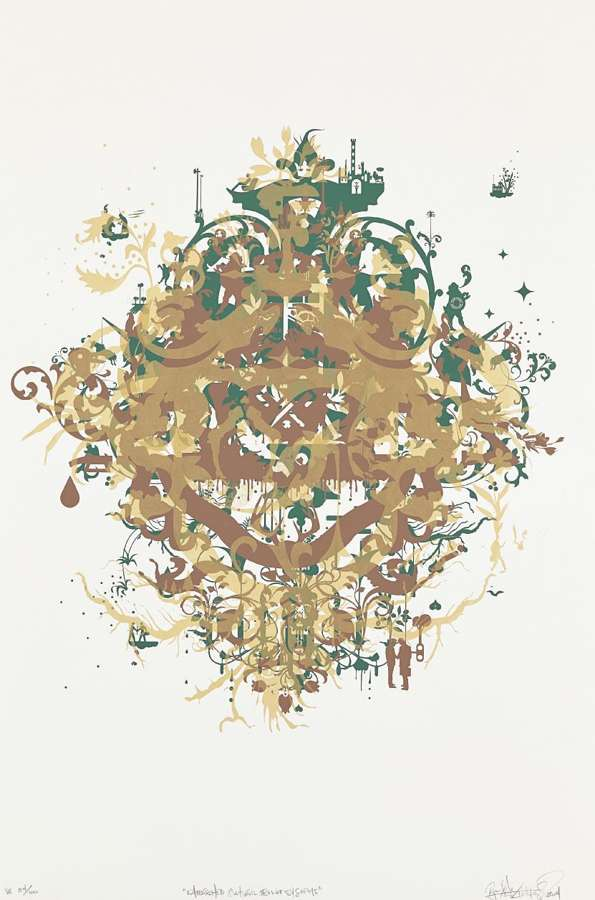 Ryan McGinness-Untitled, from Fabricated Cultural Belief Systems-2004