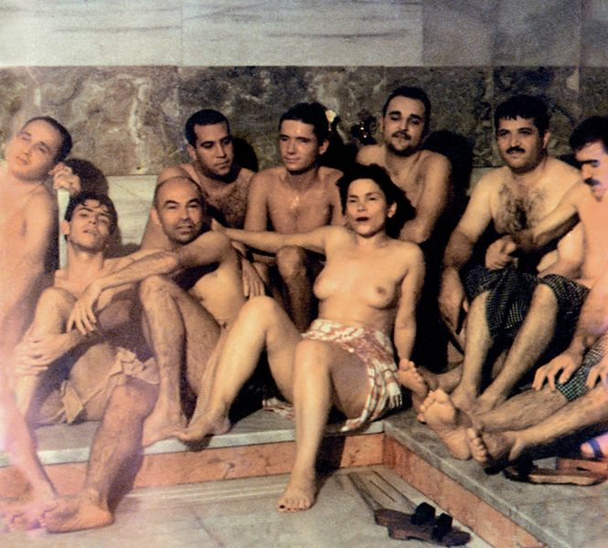 Şükran Moral - Hamam, 1997 (video still)