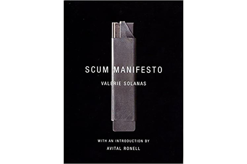 Cover of SCUM Manifesto by Valerie Solanas