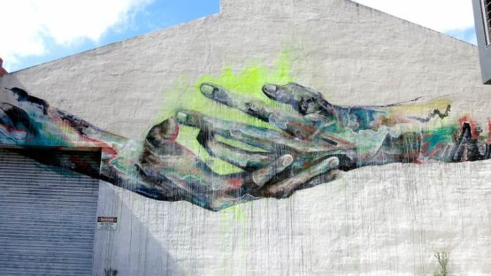 SENEKT - mural in Melboulne, Australia, 2014 - image via the artist's official site