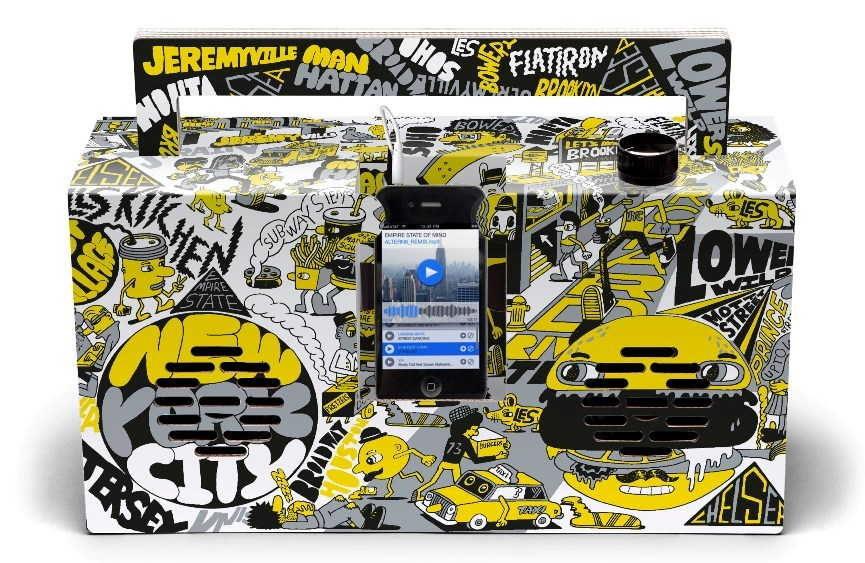 Berlin Boombox: Artist Edition