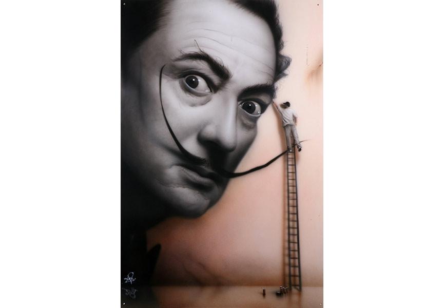 SOAP Dali Mural