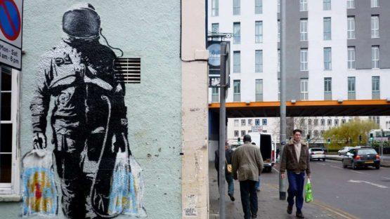 SPQR - Astronaut in Bristol, UK - image via FatCap