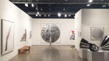 STPI's booth at Art Basel Miami Beach 2014