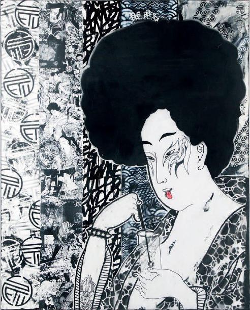 STeW - Have a Drink, 2014 (161,5 x 129,5 cm)