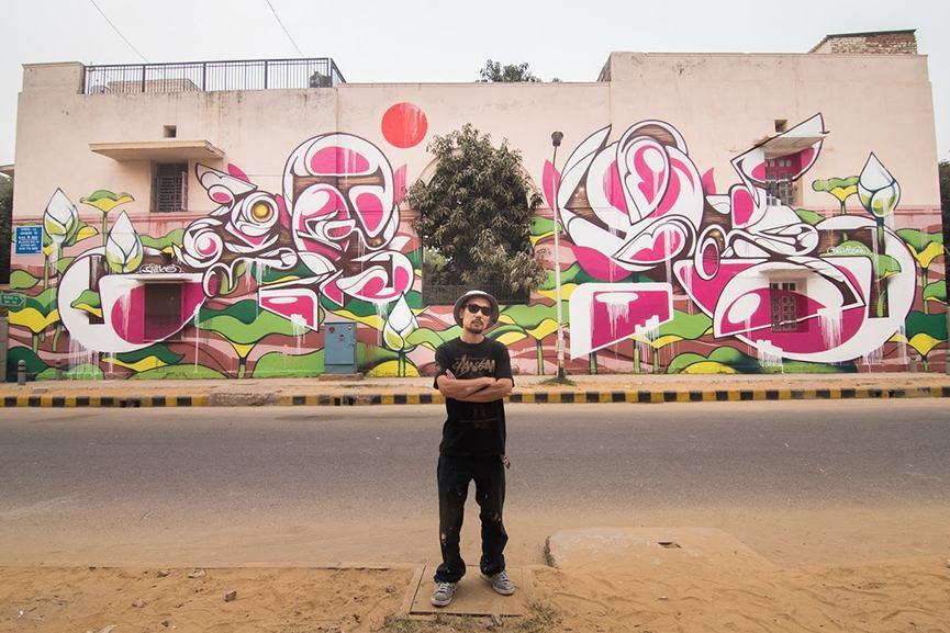 street art delhi