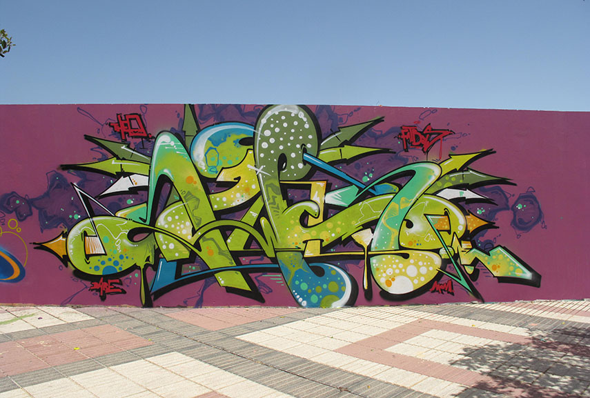 swet also created massive graffiti in la hague, which was captured in a video - follow for more news of the day in english
