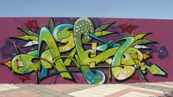 SWET - street art - photo credits of the artist and Art Is Just a Four Letters Word