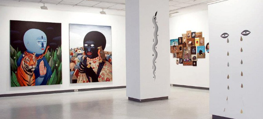 Saddo and Aitch - duo show in Timisoara, installation view time