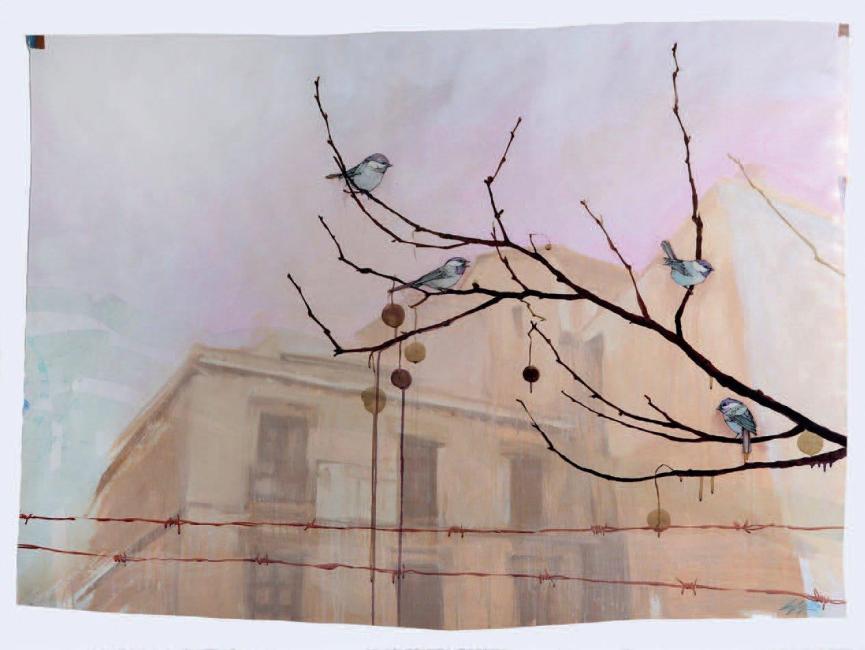 Sage Vaughn - Granada Chickadees, 2008 (107 x 148 cm)