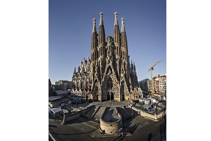 antoni gaudí - Sagrada Família church in the city of barcelona, spain