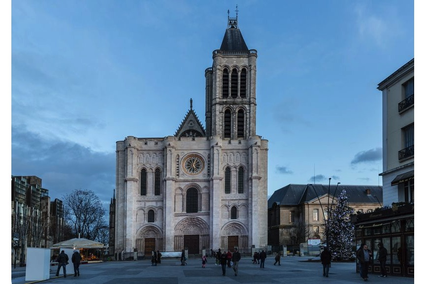 Saint Denis Basilica, the royal abbey in France