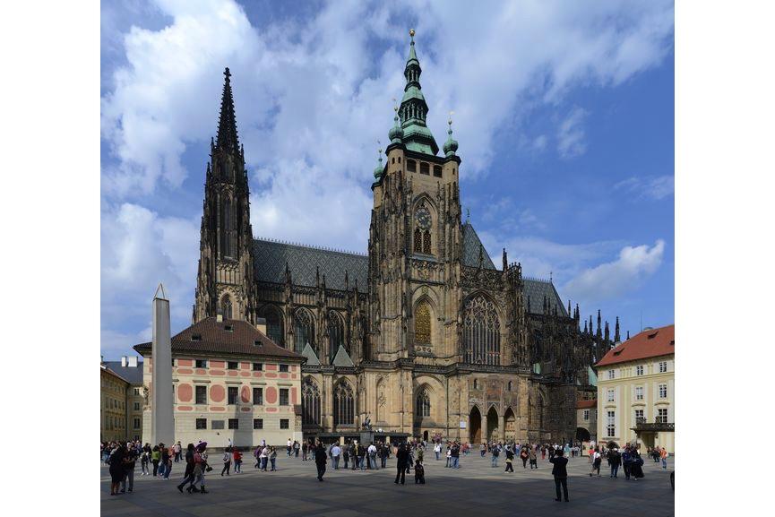 Saint Vitus Cathedral, Prague, gothic architecture in Europe