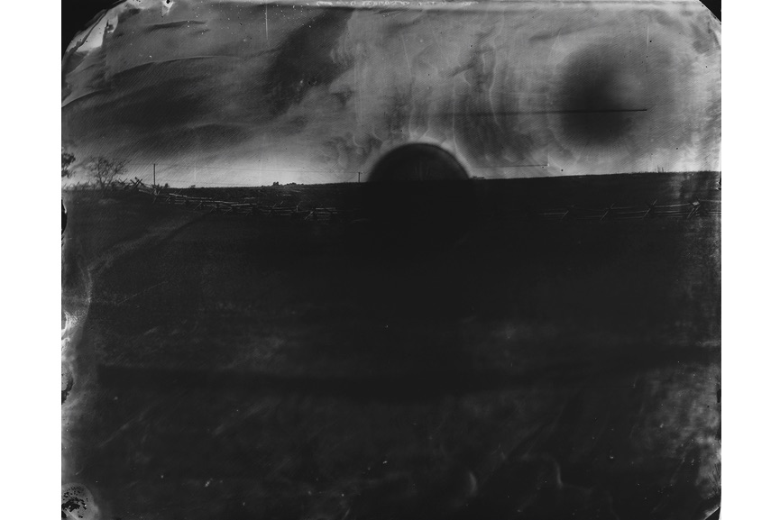 Sally Mann - Battlefield, Antietam (Black Sun), 2001
